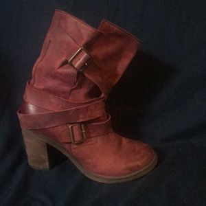 Sassy Jeffrey Campbell strapped Moto boots